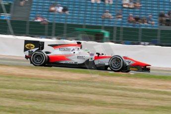 World © Octane Photographic Ltd. Friday 3rd July 2015. MP Motorsport – Oliver Rowland. GP2 Qualifying – Silverstone, UK. Digital Ref. : 1330JM1D3703