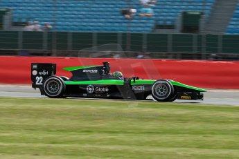 World © Octane Photographic Ltd. Friday 3rd July 2015. Status Grand Prix – Marlon Stockinger. GP2 Qualifying – Silverstone, UK. Digital Ref. : 1330JM1D3732