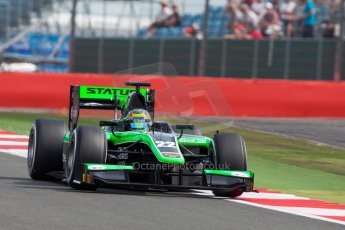 World © Octane Photographic Ltd. Friday 3rd July 2015. Status Grand Prix – Marlon Stockinger. GP2 Qualifying – Silverstone, UK. Digital Ref. : 1330JM1D3787