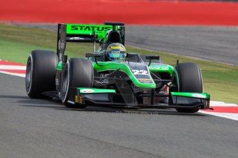 World © Octane Photographic Ltd. Friday 3rd July 2015. Status Grand Prix – Marlon Stockinger. GP2 Qualifying – Silverstone, UK. Digital Ref. : 1330JM1D3788