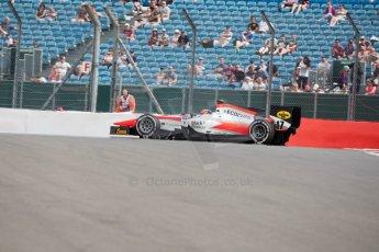World © Octane Photographic Ltd. Friday 3rd July 2015. MP Motorsport – Daniel de Jong. GP2 Qualifying – Silverstone, UK. Spain. Digital Ref. : 1330JM1D3793