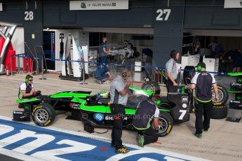 World © Octane Photographic Ltd. Thursday 2nd July 2015. Status Grand Prix – Seb Morris. GP3 Paddock – Silverstone, UK. Digital Ref. : 1331JM1D3843