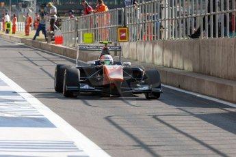 World © Octane Photographic Ltd. Thursday 2nd July 2015. Trident – Luca Ghiotto. GP3 Paddock – Silverstone, UK. Digital Ref. : 1331JM1D4106