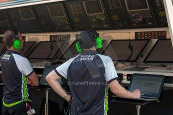 World © Octane Photographic Ltd. Thursday 2nd July 2015. Status Grand Prix pit wall. GP3 Paddock – Silverstone, UK. Digital Ref. : 1331JM1D4143