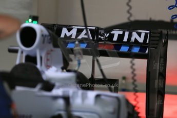 World © Octane Photographic Ltd. Williams Martini Racing FW37. Thursday 2nd July 2015, F1 British GP Pit Lane, Silverstone, UK. Digital Ref: 1324LB1D2826