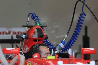 World © Octane Photographic Ltd. Scuderia Ferrari SF15-T. Thursday 2nd July 2015, F1 British GP Pit Lane, Silverstone, UK. Digital Ref: 1324LB1D2871