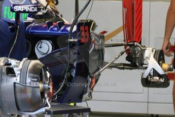 World © Octane Photographic Ltd. Scuderia Toro Rosso STR10. Thursday 2nd July 2015, F1 British GP Pit Lane, Silverstone, UK. Digital Ref: 1324LB1D2943