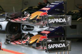 World © Octane Photographic Ltd. Scuderia Toro Rosso STR10. Thursday 2nd July 2015, F1 British GP Paddock, Silverstone, UK. Digital Ref: 1324LB5D8594
