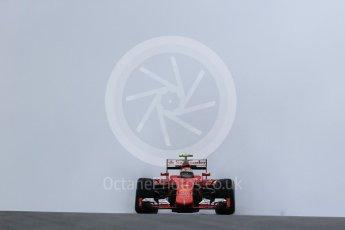 World © Octane Photographic Ltd. Scuderia Ferrari SF15-T– Kimi Raikkonen. Friday 23rd October 2015, F1 USA Grand Prix Practice 1, Austin, Texas - Circuit of the Americas (COTA). Digital Ref: 1460LB1D8694