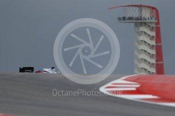 World © Octane Photographic Ltd. Williams Martini Racing FW37 – Felipe Massa. Friday 23rd October 2015, F1 USA Grand Prix Practice 1, Austin, Texas - Circuit of the Americas (COTA). Digital Ref: 1460LB1D9008