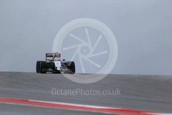 World © Octane Photographic Ltd. Sahara Force India VJM08B – Sergio Perez. Friday 23rd October 2015, F1 USA Grand Prix Practice 1, Austin, Texas - Circuit of the Americas (COTA). Digital Ref: 1460LB1D9221