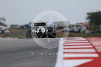 World © Octane Photographic Ltd. McLaren Honda MP4/30 - Jenson Button. Friday 23rd October 2015, F1 USA Grand Prix Practice 1, Austin, Texas - Circuit of the Americas (COTA). Digital Ref: 1460LB1D9569