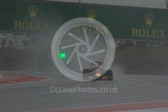 World © Octane Photographic Ltd. Infiniti Red Bull Racing RB11 – Daniel Ricciardo. Sunday 25th October 2015, F1 USA Grand Prix Qualifying, Austin, Texas - Circuit of the Americas (COTA). Digital Ref: 1464LB1D0760