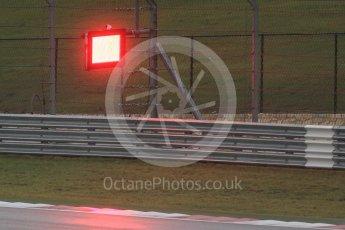 World © Octane Photographic Ltd. Red Flag. Sunday 25th October 2015, F1 USA Grand Prix Qualifying, Austin, Texas - Circuit of the Americas (COTA). Digital Ref: 1464LB1D0903