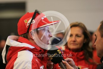 World © Octane Photographic Ltd. Scuderia Ferrari SF15-T– Kimi Raikkonen. Sunday 25th October 2015, F1 USA Grand Prix Qualifying, Austin, Texas - Circuit of the Americas (COTA). Digital Ref: 1464LB1D1420
