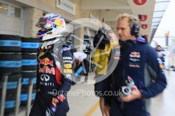 World © Octane Photographic Ltd. Infiniti Red Bull Racing RB11 – Daniel Ricciardo. Sunday 25th October 2015, F1 USA Grand Prix Qualifying, Austin, Texas - Circuit of the Americas (COTA). Digital Ref: 1464LB5D3430