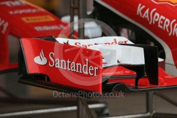 World © Octane Photographic Ltd. Scuderia Ferrari SF15-T. Wednesday 21st October 2015, F1 USA Grand Prix Set Up, Austin, Texas - Circuit of the Americas (COTA). Digital Ref: 1457LB1D8190