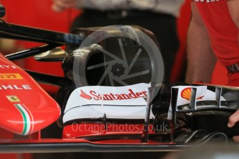 World © Octane Photographic Ltd. Scuderia Ferrari SF15-T. Wednesday 21st October 2015, F1 USA Grand Prix Set Up, Austin, Texas - Circuit of the Americas (COTA). Digital Ref: 1457LB1D8201