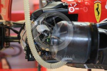 World © Octane Photographic Ltd. Scuderia Ferrari SF15-T. Wednesday 21st October 2015, F1 USA Grand Prix Set Up, Austin, Texas - Circuit of the Americas (COTA). Digital Ref: 1457LB1D8215