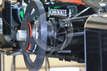 World © Octane Photographic Ltd. McLaren Honda MP4/30. Wednesday 21st October 2015, F1 USA Grand Prix Set Up, Austin, Texas - Circuit of the Americas (COTA). Digital Ref: 1457LB1D8252