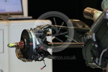 World © Octane Photographic Ltd. Lotus F1 Team E23 Hybrid. Wednesday 21st October 2015, F1 USA Grand Prix Set Up, Austin, Texas - Circuit of the Americas (COTA). Digital Ref: 1457LB1D8419