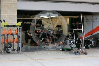 World © Octane Photographic Ltd. Sahara Force India VJM08B. Wednesday 21st October 2015, F1 USA Grand Prix Set Up, Austin, Texas - Circuit of the Americas (COTA). Digital Ref: 1457LB5D2711