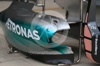 World © Octane Photographic Ltd. Mercedes AMG Petronas F1 W06 Hybrid. Wednesday 21st October 2015, F1 USA Grand Prix Set Up, Austin, Texas - Circuit of the Americas (COTA). Digital Ref: 1456LB1D7545