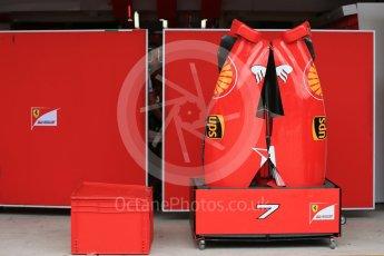 World © Octane Photographic Ltd. Scuderia Ferrari SF15-T. Wednesday 21st October 2015, F1 USA Grand Prix Set Up, Austin, Texas - Circuit of the Americas (COTA). Digital Ref: 1456LB1D7579