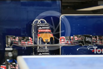 World © Octane Photographic Ltd. Scuderia Toro Rosso STR10. Wednesday 21st October 2015, F1 USA Grand Prix Set Up, Austin, Texas - Circuit of the Americas (COTA). Digital Ref: 1456LB1D7598