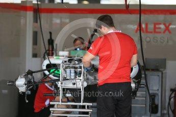 World © Octane Photographic Ltd. Manor Marussia F1 Team MR03B. Wednesday 21st October 2015, F1 USA Grand Prix Set Up, Austin, Texas - Circuit of the Americas (COTA). Digital Ref: 1456LB1D7607