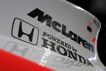 World © Octane Photographic Ltd. Donington Grand Prix Collection 25th January 2015. McLaren Honda. Digital Ref:  1179CB1D0896