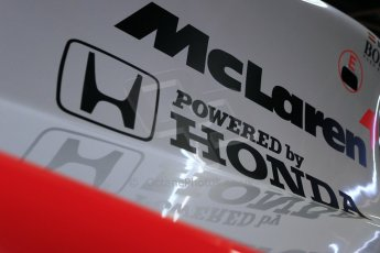 World © Octane Photographic Ltd. Donington Grand Prix Collection 25th January 2015. McLaren Honda. Digital Ref:  1179CB1D0897