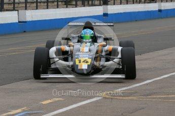 World © Octane Photographic Ltd. 15th October 2015. Donington Park. General Testing. JTR MSA Formula Team - Toby Sowery. Digital Ref: 1455LB1D7123