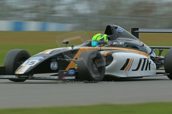 World © Octane Photographic Ltd. Wednesday 4th March 2015, General un-silenced test day – Donington Park - MSA Formula – Certified by FIA, Powered by Ford EcoBoost - James Pull - JTR. Digital Ref : 1196CB1D4304