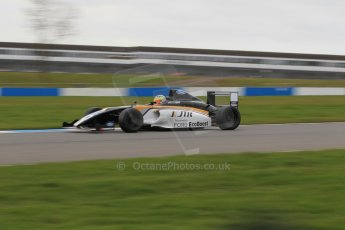 World © Octane Photographic Ltd. Wednesday 4th March 2015, General un-silenced test day – Donington Park - MSA Formula – Certified by FIA, Powered by Ford EcoBoost - Dan Baybutt - JTR. Digital Ref : 1196CB1L5009