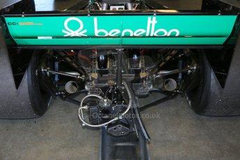 World © Octane Photographic Ltd. Donington Park general unsilenced testing June 4th 2015. Martin Stretton testing a Tyrrell 012 - FIA Historic F1 Championship/Masters GP. Digital Ref :