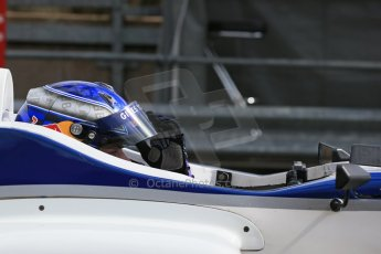 World © Octane Photographic Ltd. DUO BRDC Formula 4 Qualifying, Oulton Park, UK, Saturday 4th April 2015. MSV F4-013. HHC Motorsport. Harri Newey. Digital Ref : 1213LB1D2573