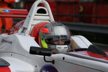 World © Octane Photographic Ltd. DUO BRDC Formula 4 Qualifying, Oulton Park, UK, Saturday 4th April 2015. MSV F4-013. Douglas Motorsport. Fernando Urrutia. Digital Ref : 1213LB1D2611