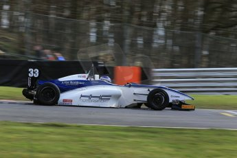 World © Octane Photographic Ltd. DUO BRDC Formula 4 Qualifying, Oulton Park, UK, Saturday 4th April 2015. MSV F4-013. HHC Motorsport. Harri Newey. Digital Ref : 1213LB1D2688