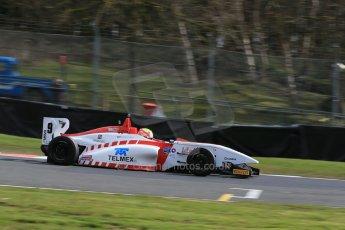 World © Octane Photographic Ltd. DUO BRDC Formula 4 Qualifying, Oulton Park, UK, Saturday 4th April 2015. MSV F4-013. Lanan Racing. Rodrigo Fonseca. Digital Ref : 1213LB1D2714
