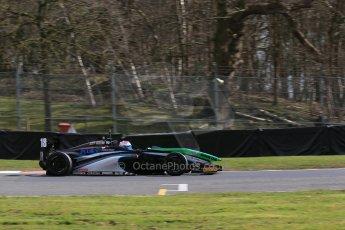 World © Octane Photographic Ltd. DUO BRDC Formula 4 Qualifying, Oulton Park, UK, Saturday 4th April 2015. MSV F4-013. SWR – Sean Walkinshaw Racing. Zubair Hoque. Digital Ref : 1213LB1D2836