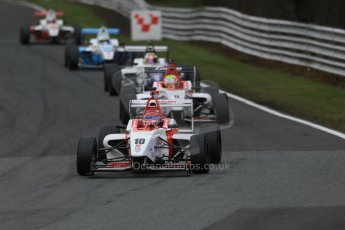 World © Octane Photographic Ltd. DUO BRDC Formula 4 Race 1, Oulton Park, UK, Saturday 4th April 2015. MSV F4-013. Lanan Racing. Chris Mealin. Digital Ref : 1214LB1D3168