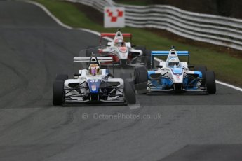 World © Octane Photographic Ltd. DUO BRDC Formula 4 Race 1, Oulton Park, UK, Saturday 4th April 2015. MSV F4-013. HHC Motorsport. Sisa Ngebulana. Digital Ref : 1214LB1D3228