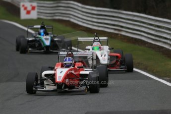 World © Octane Photographic Ltd. DUO BRDC Formula 4 Race 1, Oulton Park, UK, Saturday 4th April 2015. MSV F4-013. Hillspeed. Al Faisal Al Zubair. Digital Ref : 1214LB1D3249