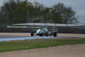 World © Octane Photographic Ltd. Saturday 25th April 2015, MSVR F3 Cup Qualifying. Donington Park. Omicron Motorsport - Jacopo Sebastiani – Dallara F307 Volkswagen Speiss. Digital Ref: 1234LB1D4039