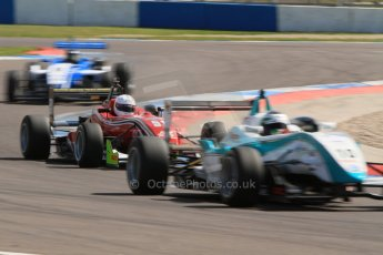 World © Octane Photographic Ltd. Saturday 25th April 2015, MSVR F3 Cup Race 1. Donington Park. Chris Dittmann Racing (CDR) – Kieran Vernon – Dallara F307 Mercedes HWA. Digital Ref: 1235CB7B1779