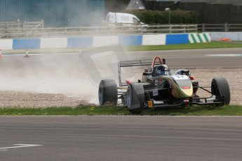 World © Octane Photographic Ltd. Saturday 25th April 2015, MSVR F3 Cup Race 1. Donington Park. CF Racing - Daniel Tapinos – Dallara F311 NBE. Digital Ref: 1235CB7B1839
