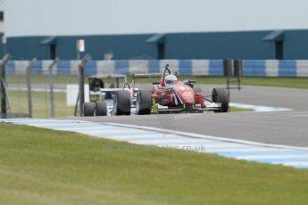 World © Octane Photographic Ltd. Saturday 25th April 2015, MSVR F3 Cup Race 1. Donington Park. Chris Dittmann Racing (CDR) – Kieran Vernon – Dallara F307 Mercedes HWA. Digital Ref: 1235CB7L7326