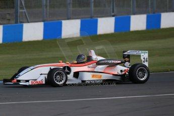World © Octane Photographic Ltd. Saturday 25th April 2015, MSVR F3 Cup Race 1. Donington Park. Matthew Payne– Dallara F307 Mercedes HWA. Digital Ref:1235LB1D4301