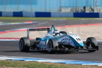 World © Octane Photographic Ltd. Sunday 26th April 2015, MSVR F3 Cup Race 3. Donington Park. Omicron Motorsport - Jacopo Sebastiani – Dallara F307 Volkswagen Speiss. Digital Ref: 1237LB1D4732